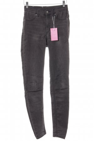 Cheap Monday Skinny Jeans dunkelgrau Casual-Look