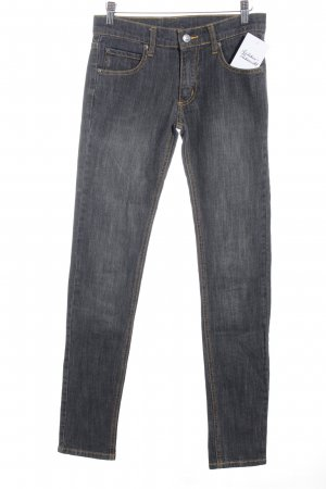 Cheap Monday Skinny Jeans dunkelgrau Street-Fashion-Look