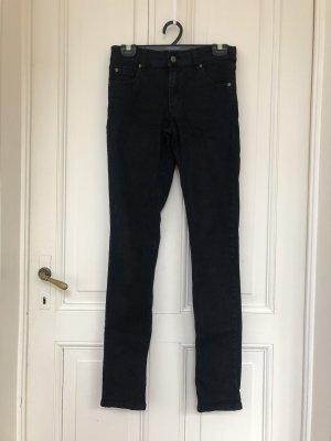 CHEAP MONDAY SKINNY JEANS /Größe 28/32 black denim / black jeans /schwarze jeans