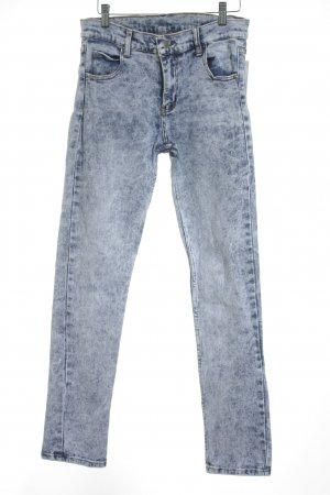 Cheap Monday Skinny Jeans hellblau-blau meliert Street-Fashion-Look