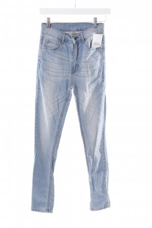 Cheap Monday Skinny Jeans hellblau Bleached-Optik