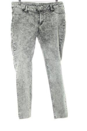 Cheap Monday Skinny Jeans hellgrau-grau meliert Jeans-Optik