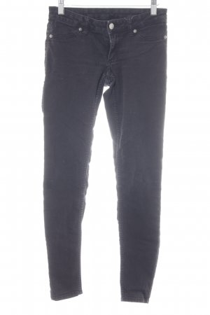 "Cheap Monday Skinny Jeans ""Low Spray Black"" schwarz"