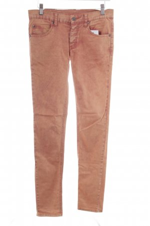 Cheap Monday Skinny Jeans orange Punk-Look