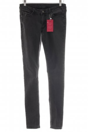Cheap Monday Skinny Jeans schwarz Jeans-Optik