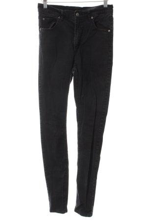 Cheap Monday Skinny Jeans schwarz Street-Fashion-Look