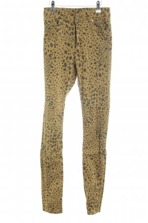 "Cheap Monday Skinny Jeans ""Second Skin Clay Leopard"""