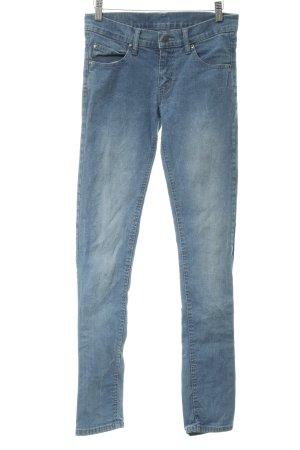 Cheap Monday Skinny Jeans stahlblau Casual-Look