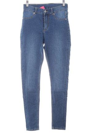 Cheap Monday Skinny Jeans stahlblau Jeans-Optik