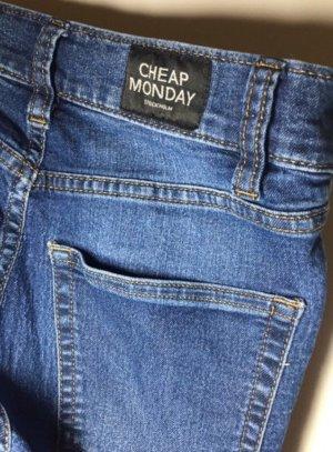 Cheap Monday Skinny Jeans blue-dark blue