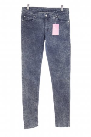 Cheap Monday Stretch Jeans dunkelblau Bleached-Optik