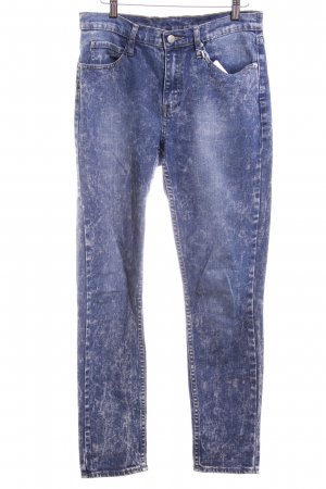 Cheap Monday Stretch jeans staalblauw casual uitstraling
