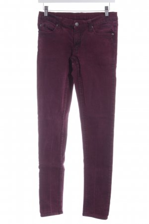 Cheap Monday Stretchhose himbeerrot-purpur Casual-Look