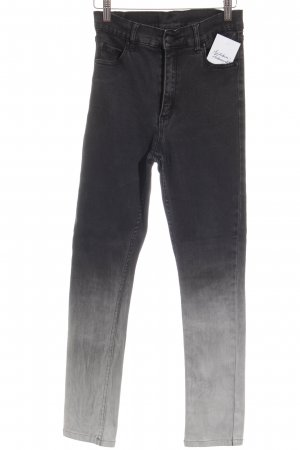 Cheap Monday Stretch broek zwart-wit kleurverloop casual uitstraling