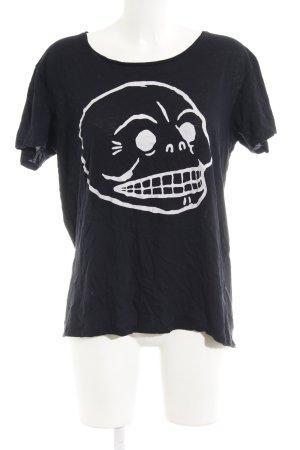 Cheap Monday T-Shirt schwarz Casual-Look