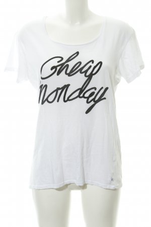 Cheap Monday T-Shirt weiß Casual-Look