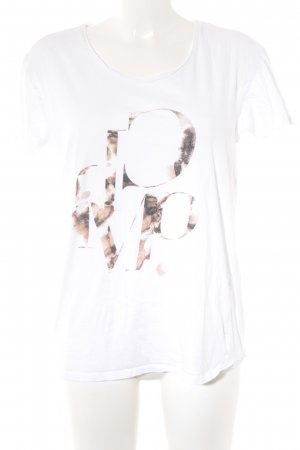 Cheap Monday T-Shirt wollweiß Motivdruck Casual-Look
