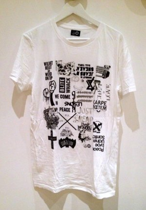 Cheap Monday T-Shirt X10 exklusiv weiß S
