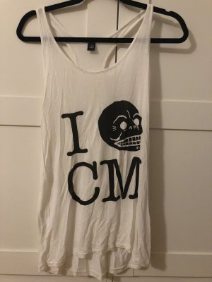Cheap Monday Muscle Shirt black-white