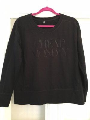 Cheap Monday Weekday pullover schwarz Gr. L