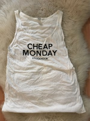 Cheap Monday // Weißes Top // Gr.36