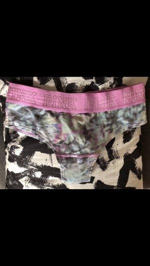 Pink Victoria's Secret Pantalone pigiama fucsia neon-grigio ardesia