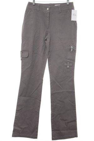 Cheer Pantalone cargo marrone-grigio stile casual