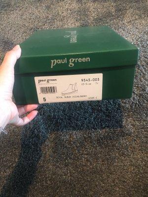 Paul Green Chelsea Boot bleu foncé-rouge cuir