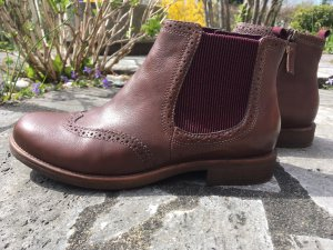 Tamaris Chelsea Boots light brown leather