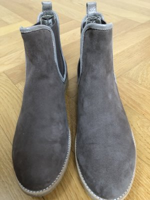 AGL Stivaletto slip-on marrone-grigio