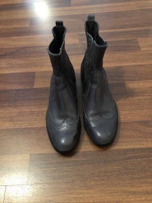 Prego Slip-on Booties dark grey-anthracite
