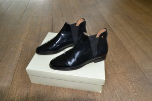 Gant Slip-on Booties black leather