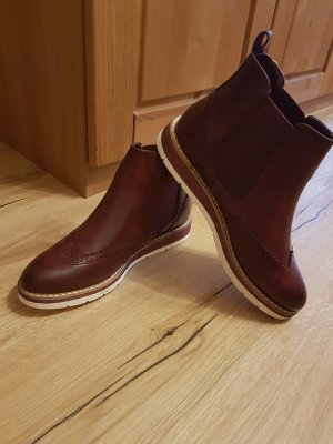 SDS Chelsea Boots bordeaux