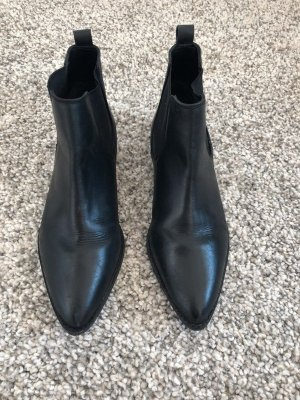 Asos Chelsea Boots black leather
