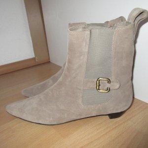 Chelsea Boots aus Wildleder, Stiefeletten, Booties, Franco Ballin