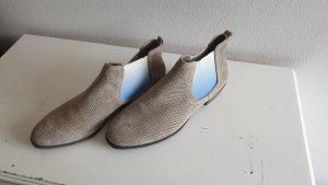 Graceland Chelsea laarzen licht beige