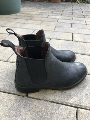 Chelsea Boots black-black brown