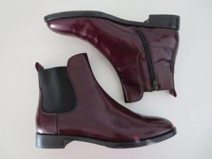 Chelsea Boots bordeaux Leder