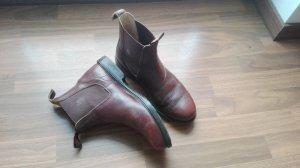 Chelsea laarzen brons-bruin Leer