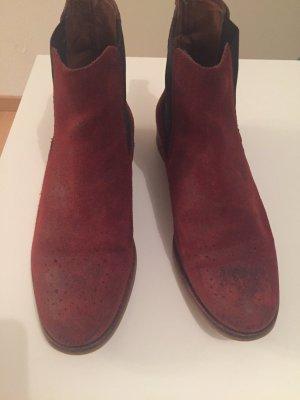 Chelsea Boots Gr.37 Wildleder