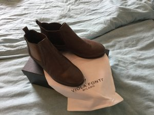 Viola Chelsea laarzen brons-zandig bruin
