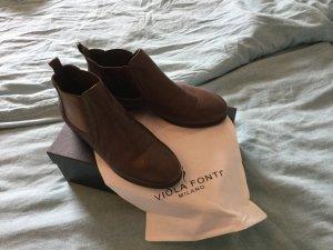 Viola Chelsea Boot bronze-brun sable
