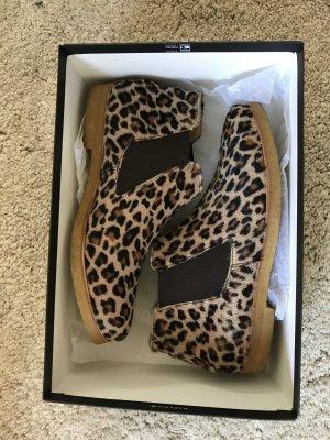 Chelsea-Boots Jancoia Original Sioux Leopard OVP
