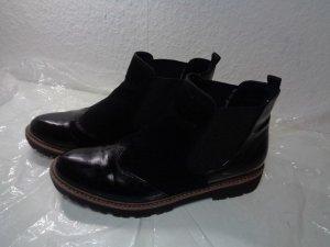 Chelsea boots marco tozzi Gr.40 Schwarz Stiefeletten Damen
