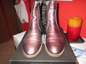 Chelsea Boots Metallic Gr. 42 von Candice Cooper
