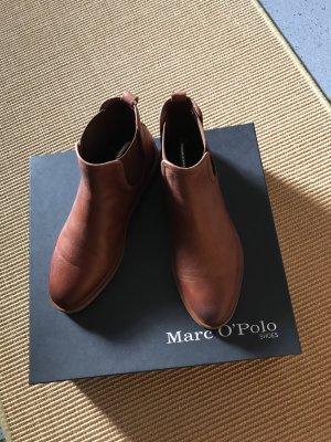 Chelsea Boots MOP Gr. 37 Cognac Leder