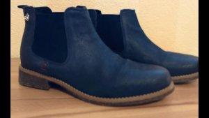 s.Oliver Chelsea laarzen donkerblauw