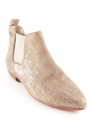 Chelsea Boots silberfarben-beige Casual-Look