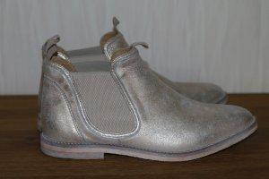 Chelsea Boots Stiefelette silber Buffalo