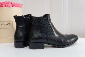 Chelsea Boots,  Stiefelette, Tamaris, 40, Leomuster